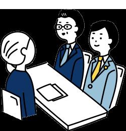 提携弁護士の紹介や弁護士同席でのご相談